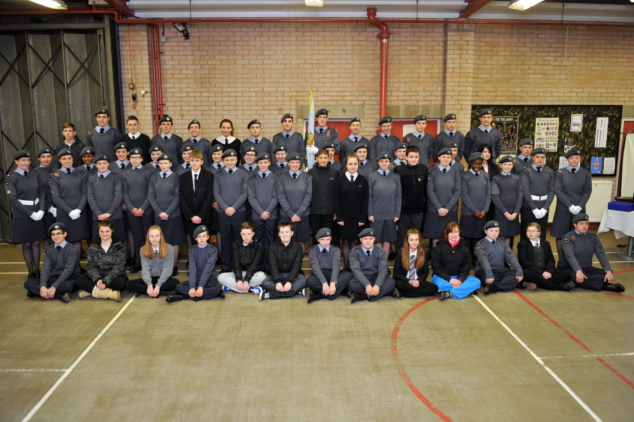 50th anniversary of 303 (Worksop) Squadron Air Cadets